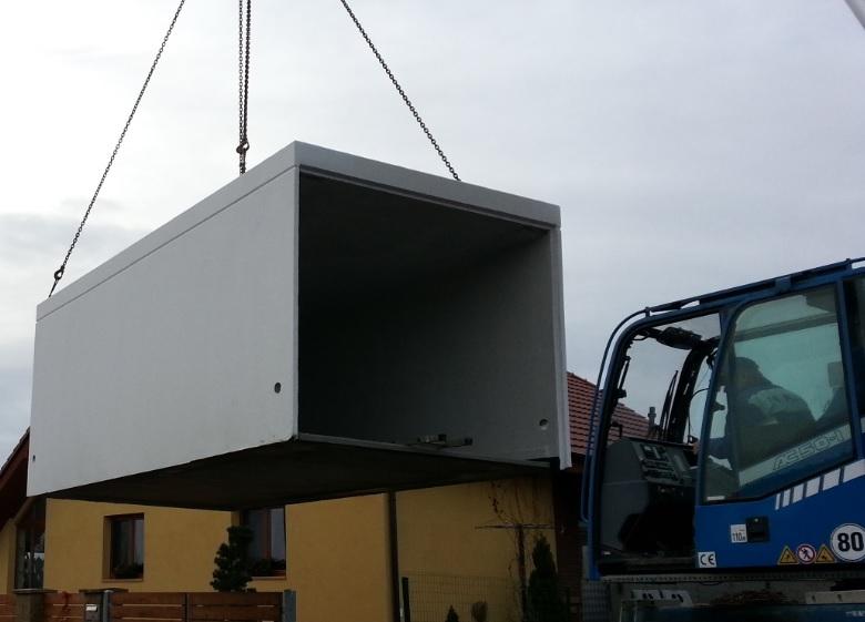 betonova garaz ekonom