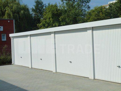montované řadové garáže