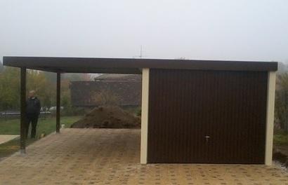 garaz s pristreskem